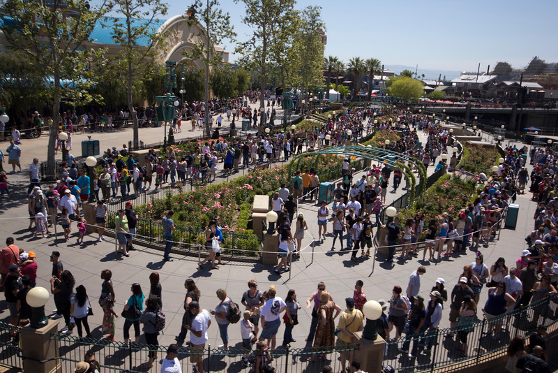 Image result for long queue disneyland